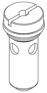 CENTRAL BRASS G-1043-C Cylinder Sub-Unit with Gasket