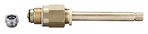 CENTRAL BRASS K-3-CT Stem Assembly W/Replaceable Seat