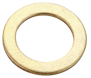 CENTRAL BRASS X4-L Brass Packing Washer - 6 Pack